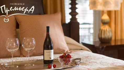 Романтика для двоих в гостинице